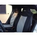 Housses de sièges SMART sur mesure Noir/Gris